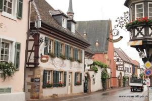 Deidesheim an der deutschen Weinstrasse