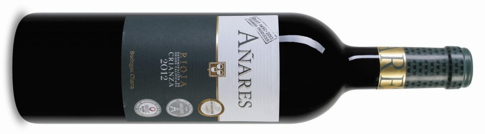 Añares Rioja DOCa Crianza 2012