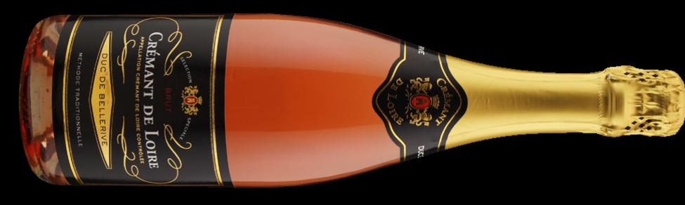 Duc de Bellerive Crémant de Loire Rosé Brut