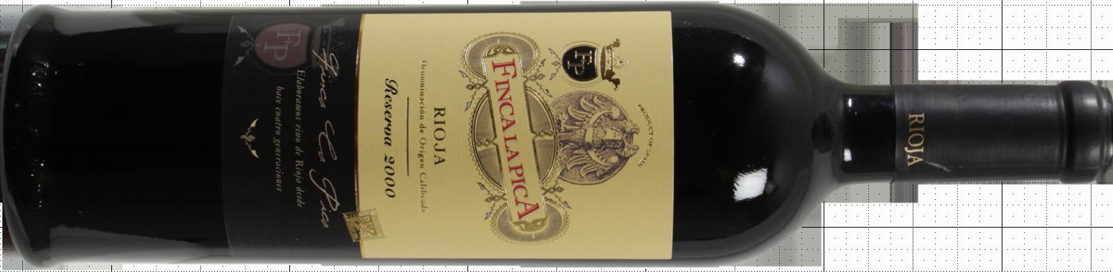 Finca La Pica Rioja DOCa Reserva 2000