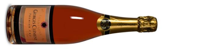 Georges Clement Champagne AC Premier Cru Brut Rosé