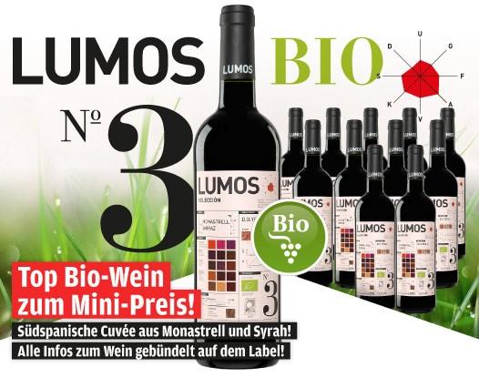 Lumos No.3 Monastrell-Shiraz BIO 2013