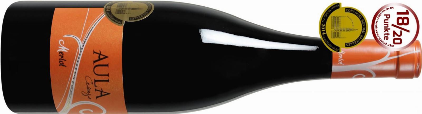 Aula Merlot Crianza 2011 jetzt günstig im Angebot!