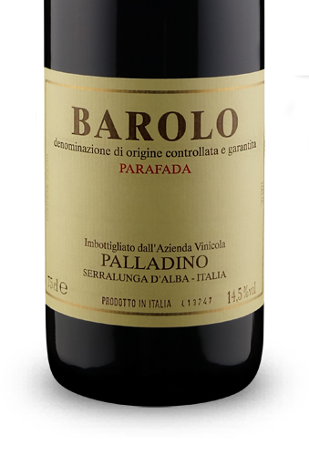 Palladino Parafada Barolo DOCG 2007