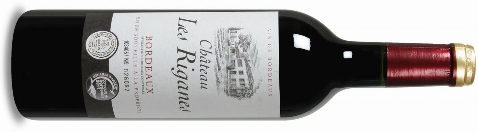 Château les Riganes Bordeaux