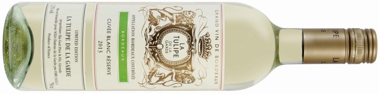 La Tulipe de la Garde Cuvée Blanc Réserve 2013