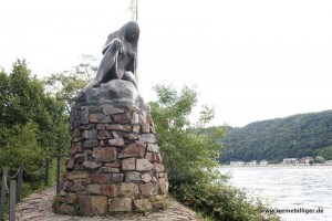 Beliebtes Ausflugsziel Loreley am Rhein