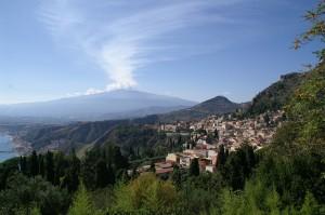 Landschaft in Sizilien am Ätna
