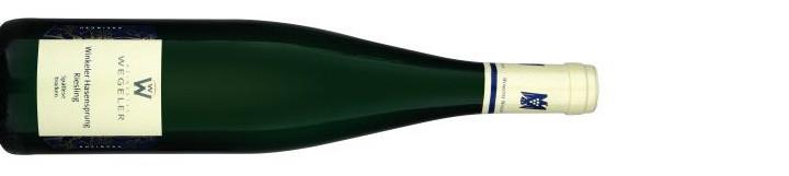 Weingut Wegeler Winkeler Hasensprung Riesling Spätlese trocken 2011