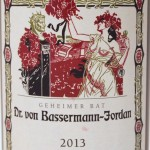 Bassermann-Jordan Riesling 2013 Etikett