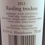 Deep Roots Riesling 2013