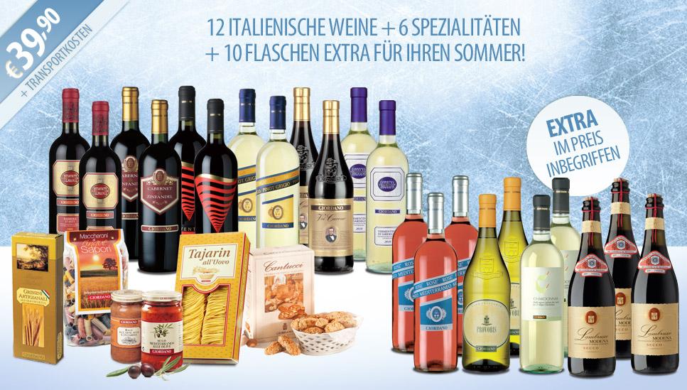 Italienisches Weinpaket