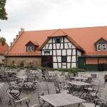 Schlosshof Schloss Staufenberg