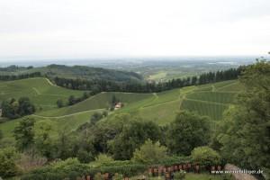 Panoramablick vom Schloss Staufenberg