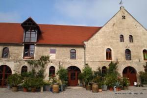 Historisches Gebäude vom Weingut Pawis