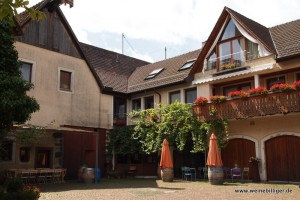 Innenhof Weingut Salwey