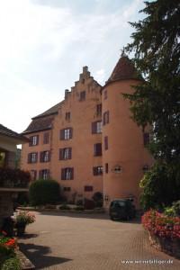 Schönes Chateau an der Elsass Weinstrasse