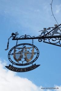 Hugel et Fils im Weinort Riquewihr