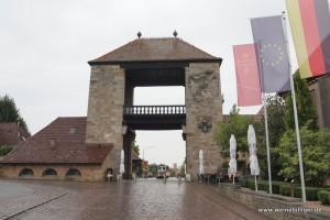 Deutsches Weintor in der Pfalz