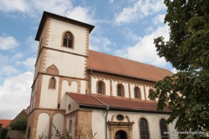Berühmte Basilika in Bechtheim