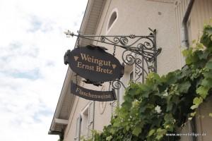 Weingut Ernst Bretz in Rheinhessen