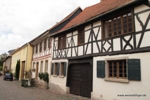 Alte Fachwerkhäuser in Bechtolsheim