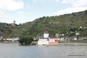 Mittelrhein mit Weinlagen