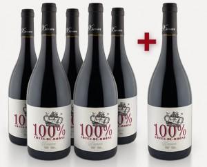 Xavier Vignon '100%' Côtes-du-Rhône 2012