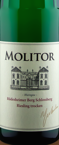 Molitor Rüdesheimer Berg Schlossberg Riesling trocken 2013