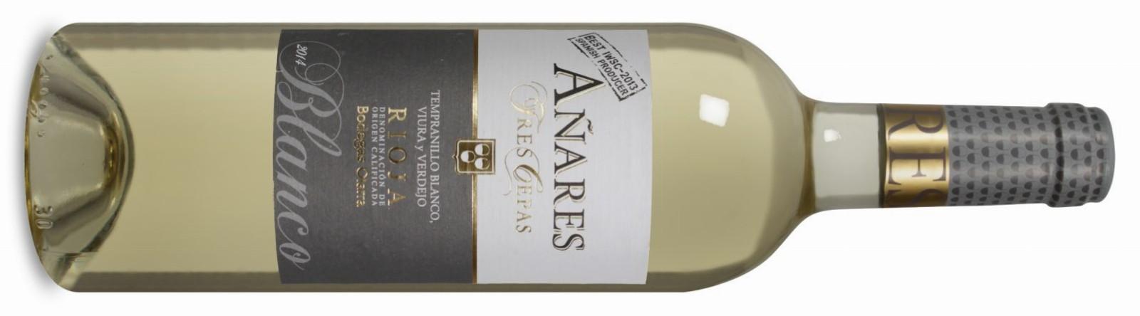 Añares Tres Cepas Rioja DOCa Blanco 2014