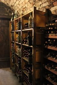 Lagerung von Wein