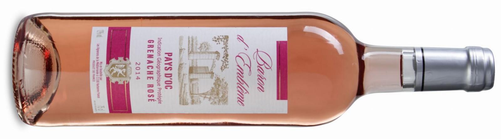 Baron d'Emblème Grenache Rosé jetzt günstig im Angebot!