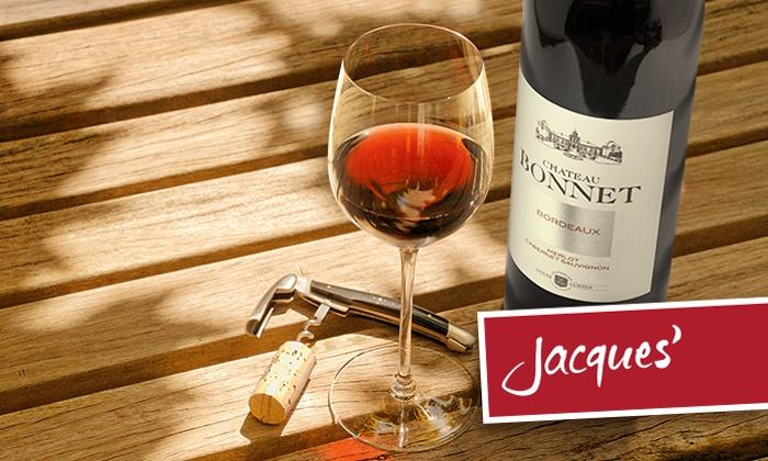 Wertgutschein über 20 Euro für Jacques' Wein-Depot für 15 Euro kaufen!