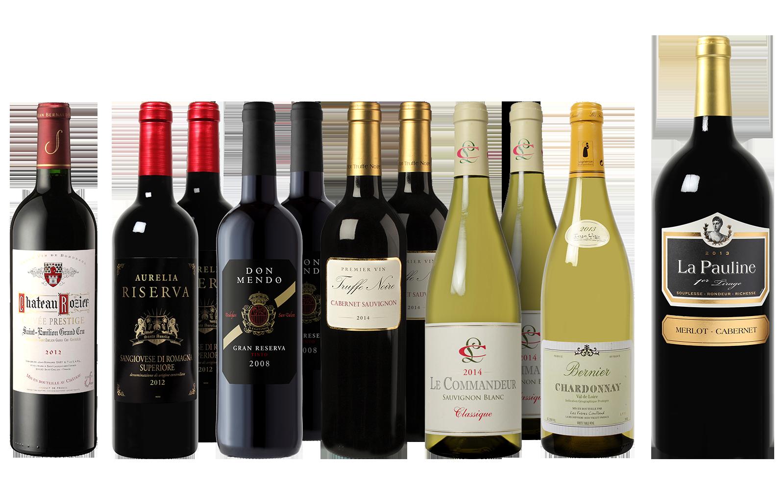 Sommerweinpaket günstig im Angebot