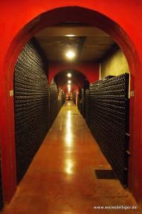 Hier werden die Weine von Macia Batle bis zur optimalen Reife gelagert