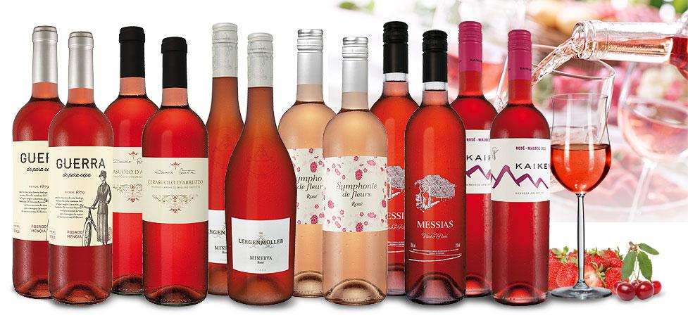 Rosé-Wein Topseller-Paket