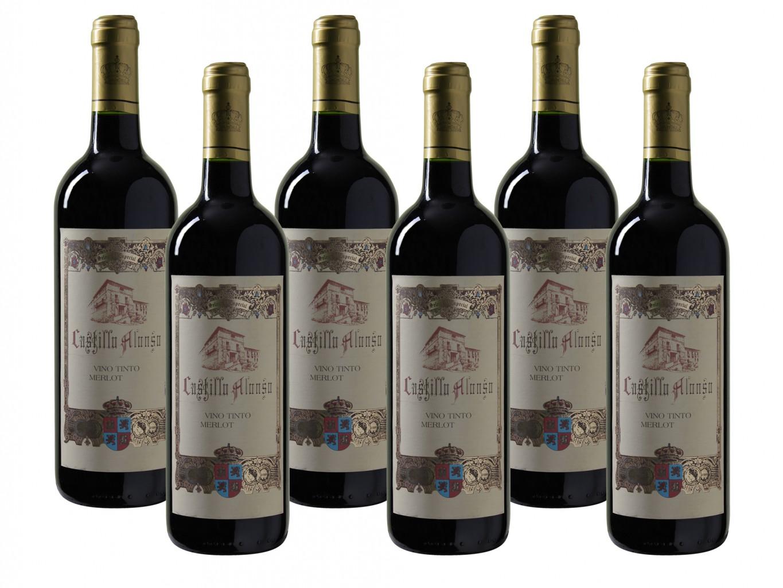 Castillo Alonso Merlot Vino tinto 2014