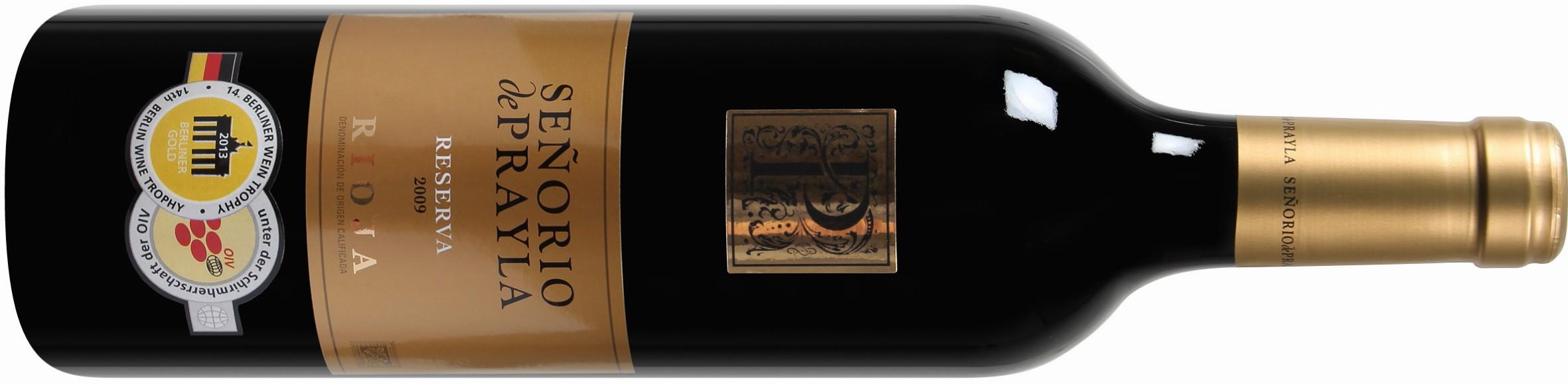 Señorio de Prayla Rioja DOCa Reserva 2009