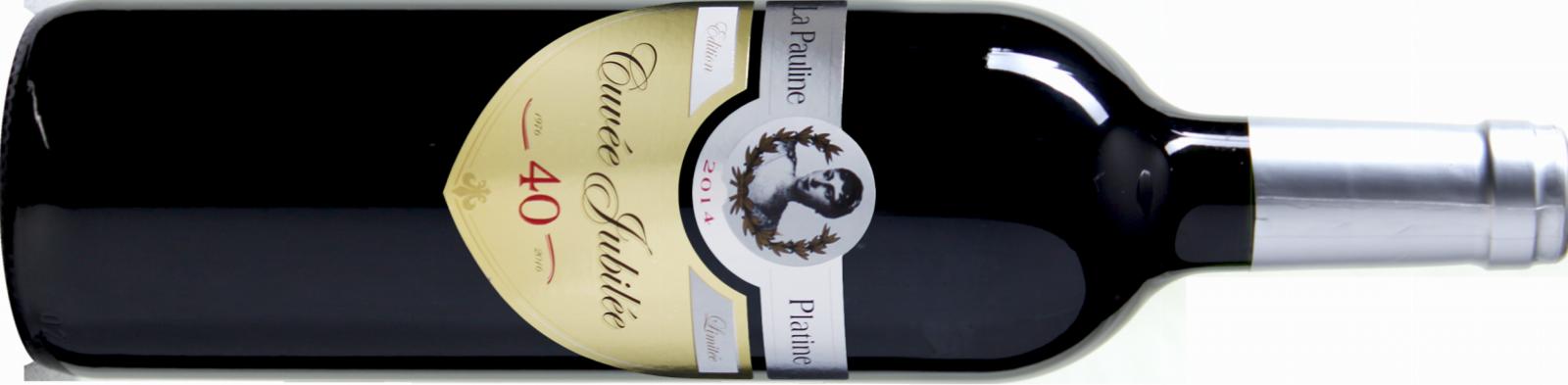 La Pauline Platine Cuvée Jubilée Cabernet-Sauvignon Merlot 2014