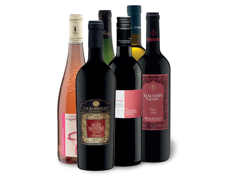 Erlesene Weinvielfalt