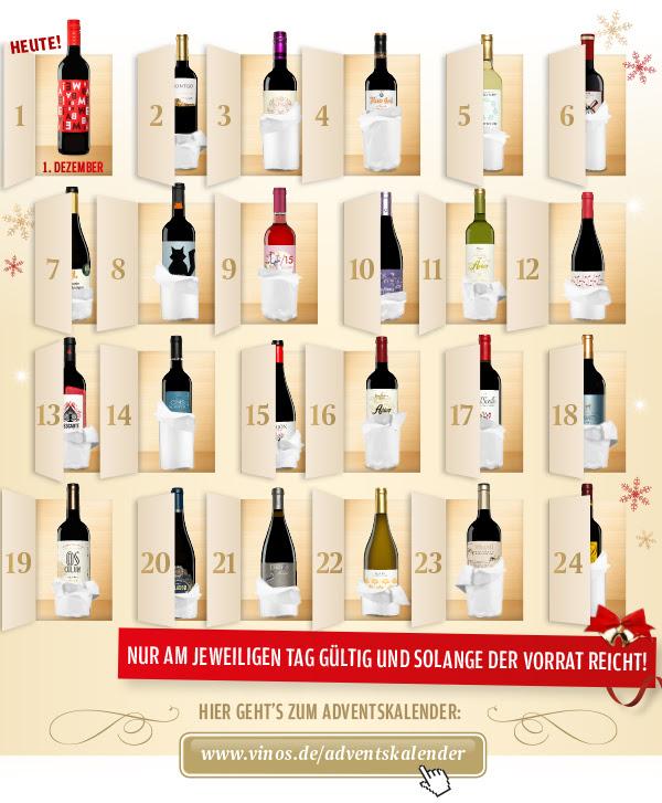 Adventskalender von vinos.de