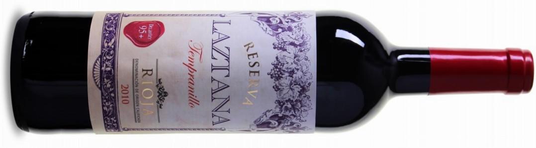 Bodegas Olarra Laztana Rioja DOC Reserva