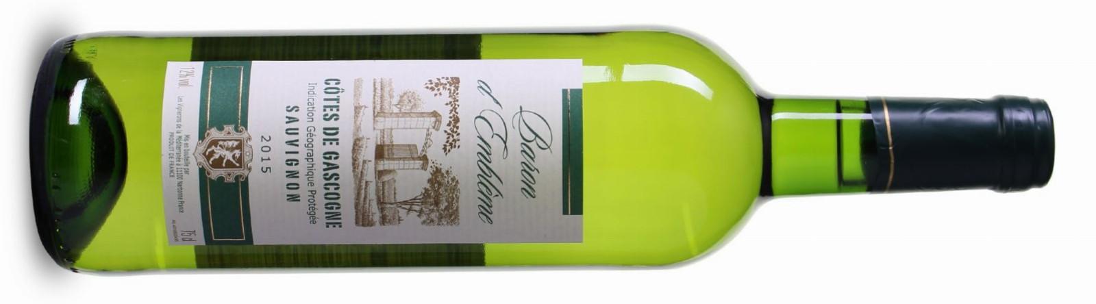 Baron d'Emblème Sauvignon Blanc 2015