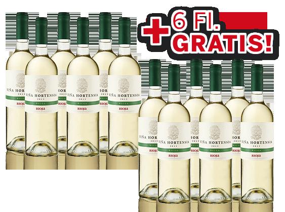 Vińa Hortensia Rioja Blanco Viura