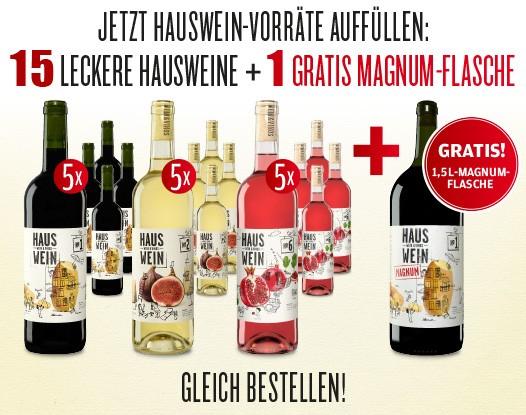 Hauswein-Vorrats-Paket