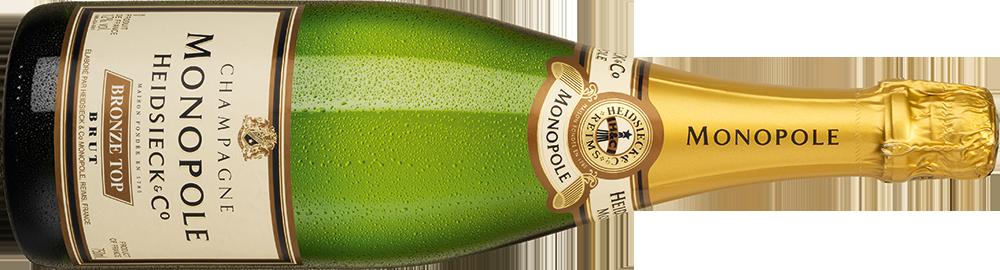 Champagner Heidsieck Monopole Bronze Top Brut